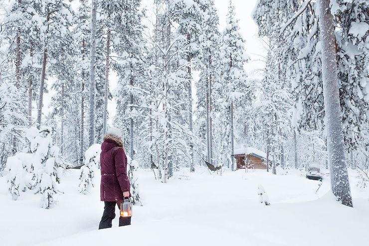 La Laponie, ce paradis blanc
