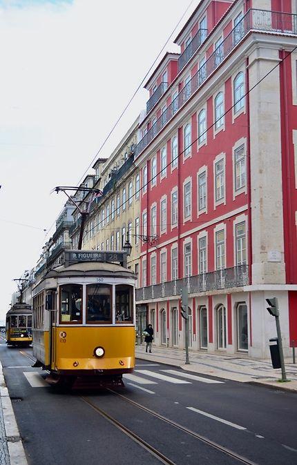 Tram 28 à Lisbonne