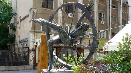 Sculpture à Bucarest