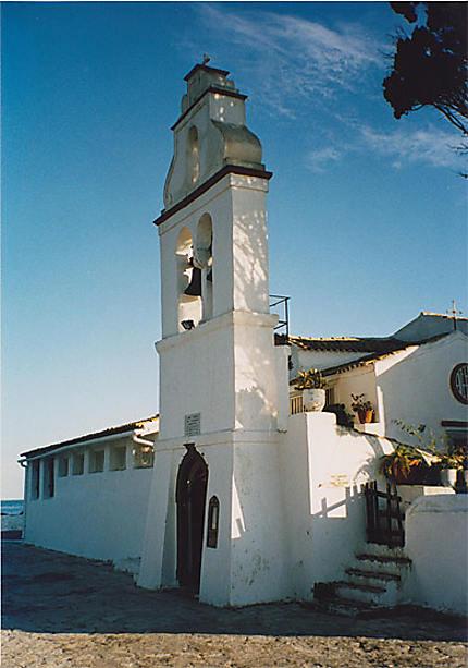 Clocher du monastère de Vlacherna