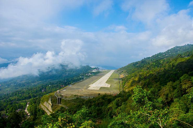 Atterrir au Sikkim... c'est déjà une aventure !