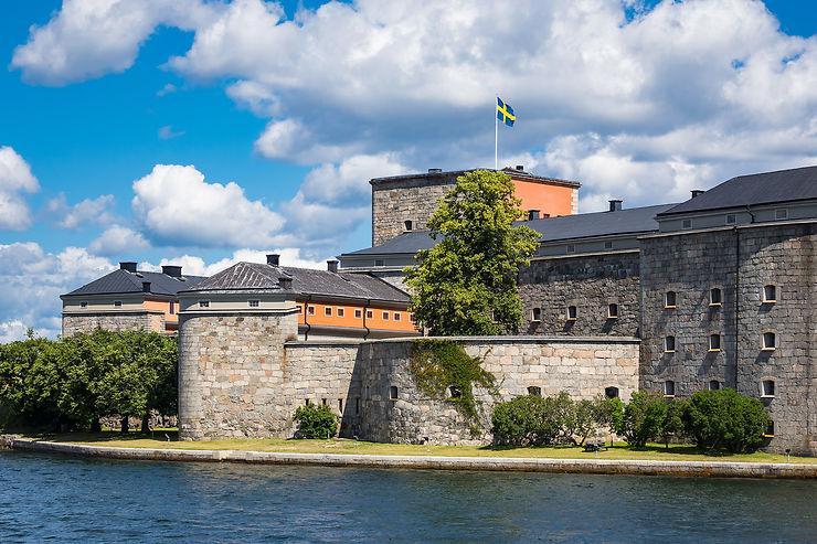 Vaxholm, l'île capitale de l'archipel de Stockholm