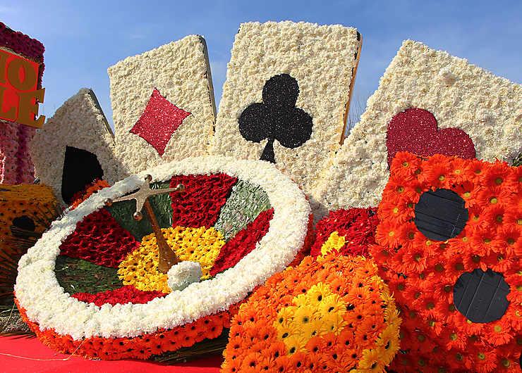 Corso fleuri au Lavandou