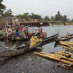 Au bord du canal des Pangalanes