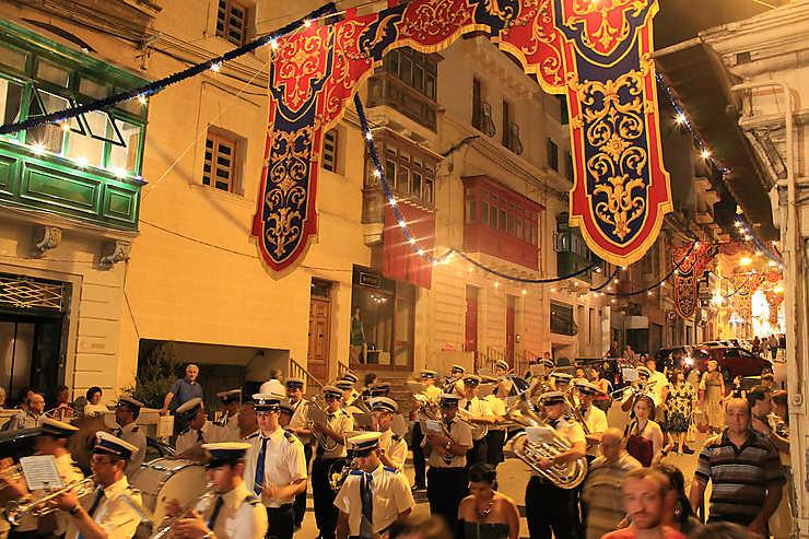 Les festivités d'hiver à Malte