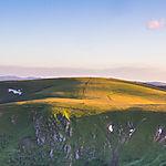 Coucher de soleil sur le Col du Wormspel