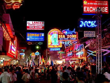 Pattaya walking street by night