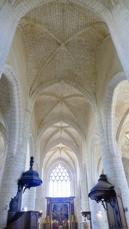 Nef de l'église Saint Martin d'Esnandes