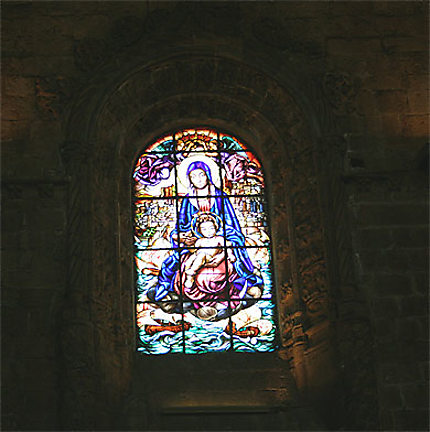 Vitrail - Eglise du Monastere des Jeronimos