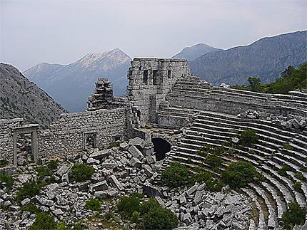 Le théâtre de Termessos