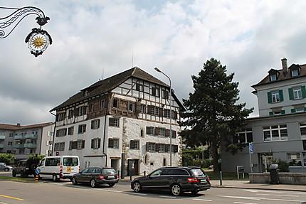 La bibliothèque de Küsnacht