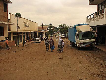 Petite ville de Moshi