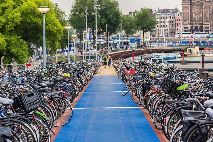 Amsterdam, l'une des capitales mondiales du vélo