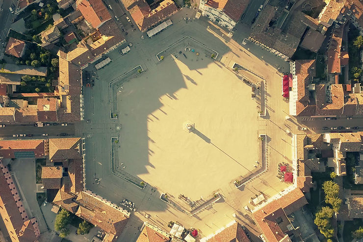 Palmanova, la cité-étoile parfaite classée à l'Unesco
