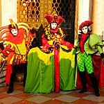 Trio Vert au Carnaval de Venise