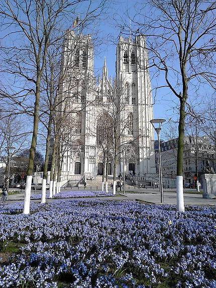 La cathédrale de Bruxelles