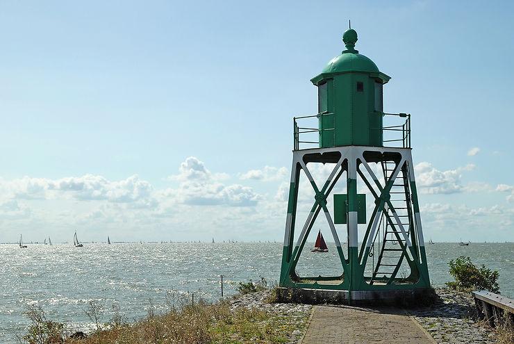 Vélo autour du lac IJsselmeer