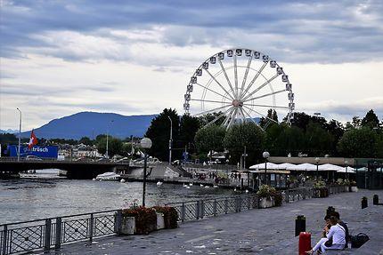 La grande roue à Genève