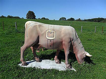 Vache de cuir
