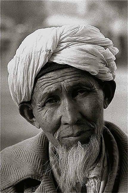 Portrait d'Afghan