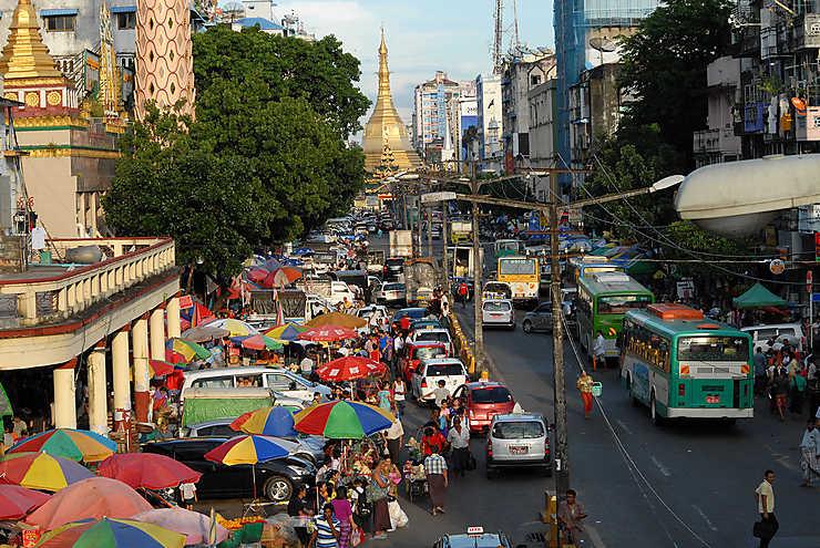 Yangon, ville plurielle de la Birmanie