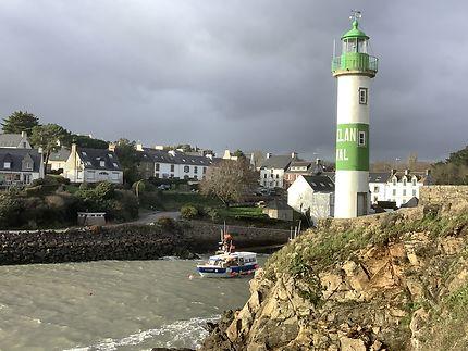 Le phare de Doëlan