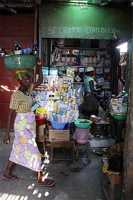 Au marché Dantokpa de Cotonou