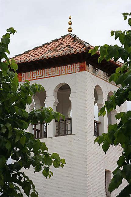 Grenade - Albaicin - Minaret de mosquée