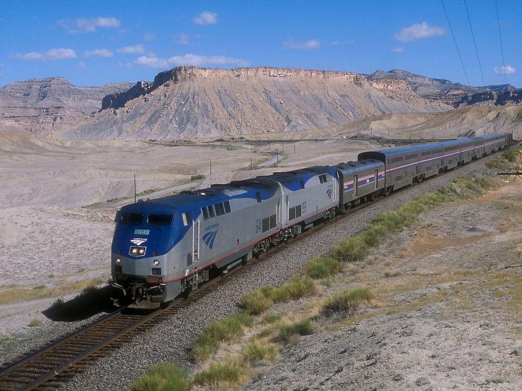 Le California Zephyr - Le train de l'Ouest américain
