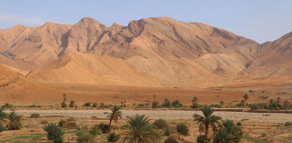 400km dans le désert de Zagora à Agadir