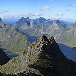 Vue depuis le sommet du Munken (775m)
