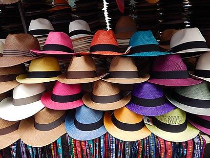 Vente de chapeaux pour Llaneros
