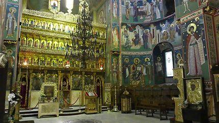 Eglise Saint-Georges à Bucarest, détails