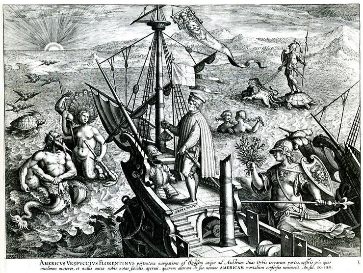Les grands explorateurs : Amerigo Vespucci