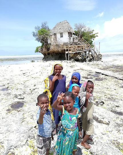 Les enfants du Rock à Zanzibar