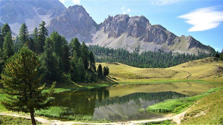 Lac miroir, Alpes