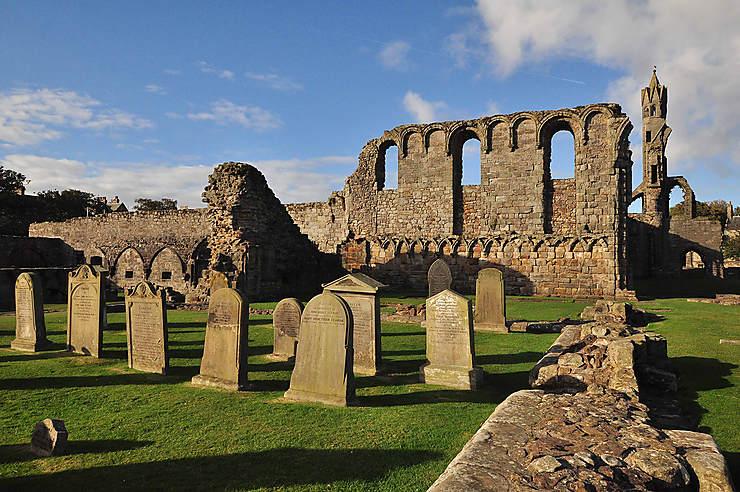 St. Andrews, le charme écossais