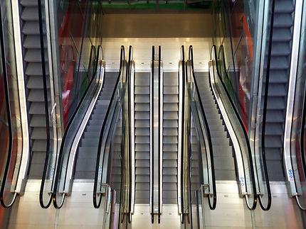 Escalators du Markthal
