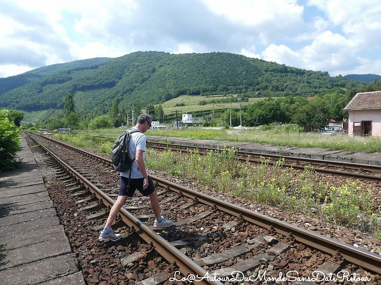 80 Jours de voyage en train en Roumanie