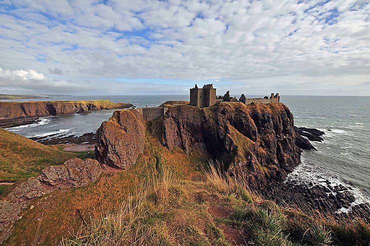 La beauté sauvage de Dunnottar Castle