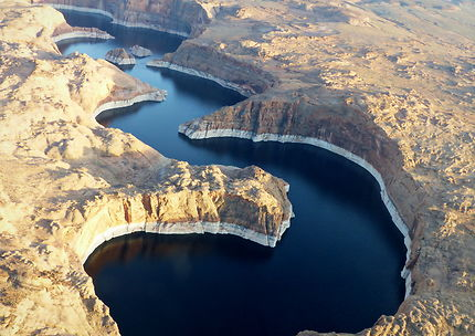 Les méandres du Lac Powell