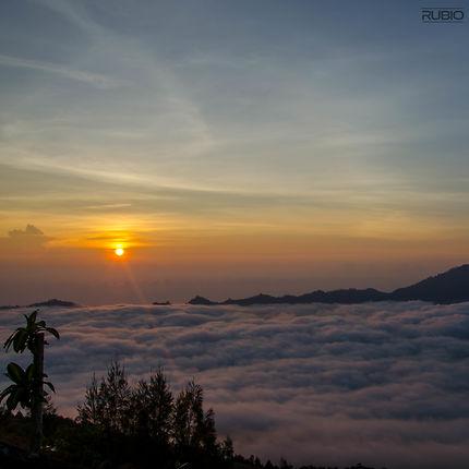 Lever de soleil au Mont Batur