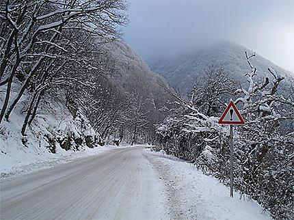 Neige aux environs de Rila