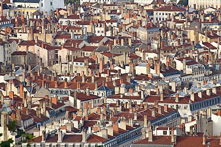 Lyon - Les toits de la Presqu'Ile