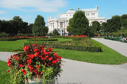Volksgarten à Vienne