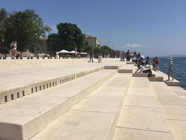 Les orgues marines de Zadar