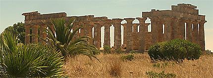 Temple à Selinunte