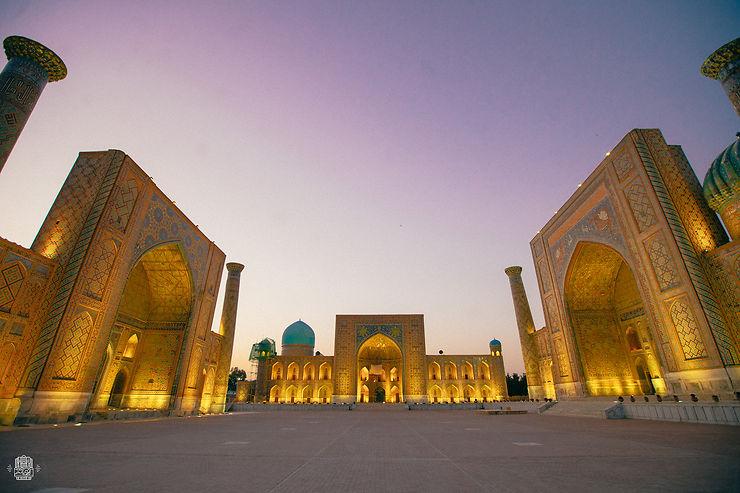Le Régistan de Samarcande, Ouzbékistan