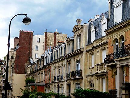 Paris prestigieux rue Marceline Desbordes-Valmore