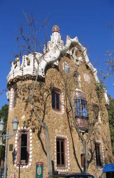 Casa du parc Guell